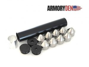 """Thread Mounts For 10"""" Aluminum 1.75″ OD Solvent Trap Kits"""