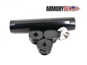 "Sealed End Cap For 9"" Aluminum Tube D Cell Solvent Trap Kit"