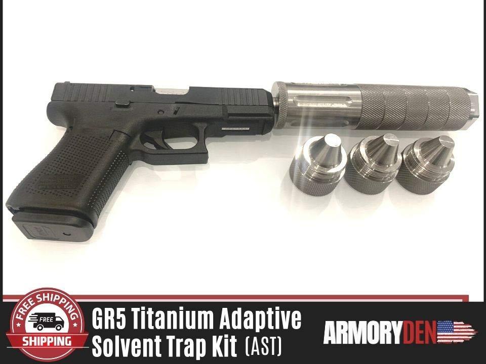 Titanium Solvent Trap Baffles