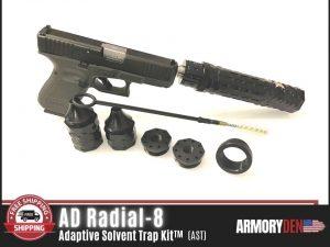 Booster | Trilug Quick Attach Adapter Mount 1.375-24 TPI (Male) to 1.1875-24 TPI (Female)
