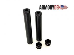 """Thread Mounts For 6″ or 7"""" Aluminum 1.05"""" OD Solvent Trap Tube Kits"""